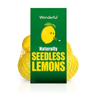 naturally seedless lemons